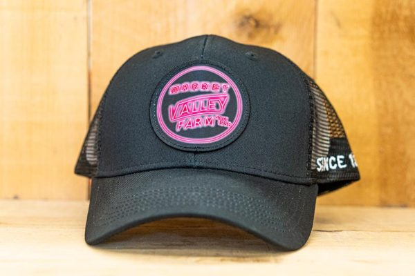 All Black Neon Mesh Curved Snap - Front