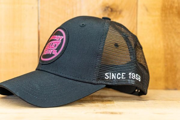 All Black Neon Mesh Curved Snap - Side