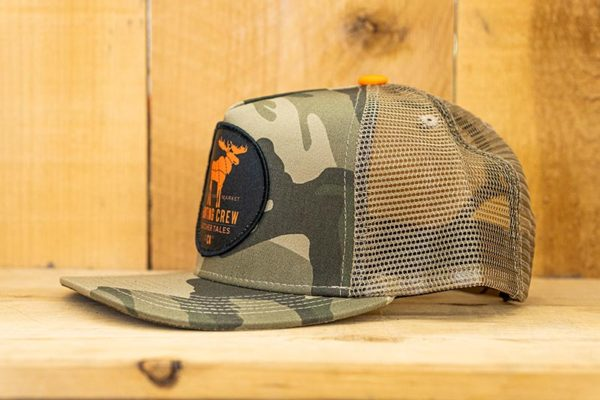Camo Hunting Orange Logo - Side