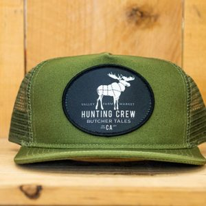 Olive Hunting Mesh Snap - Front