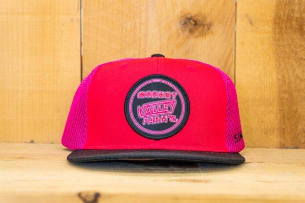 Pink & Black Neon Mesh Flex - Front