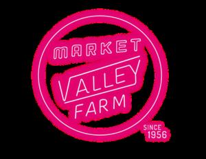 Valley Farm Market Hot Pink Logo