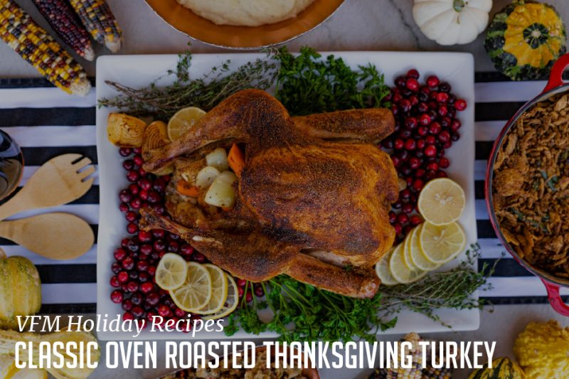 Classic Oven Roasted Thanksgiving Turkey